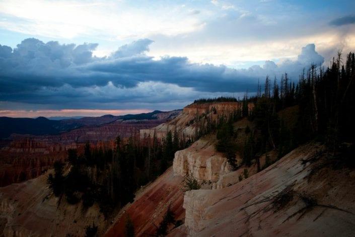 rock mountain range utah