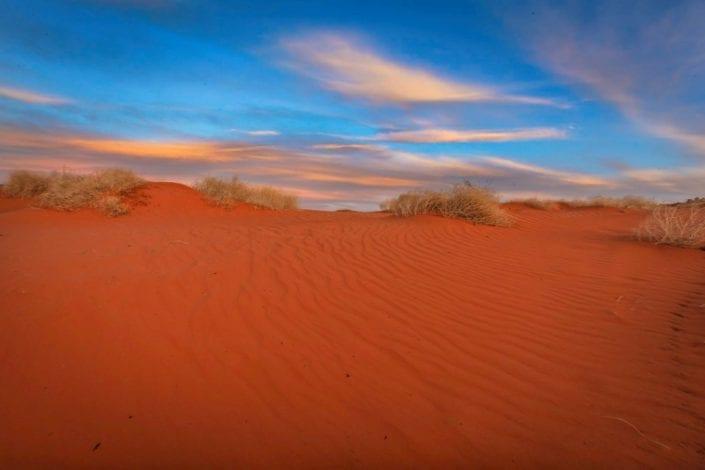 utah red sand scenery